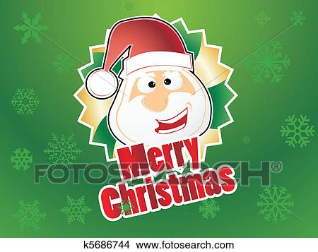 剪贴画 - 圣诞老人
