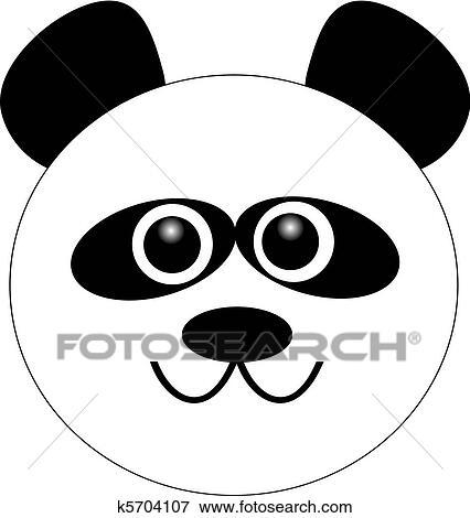 剪贴画 - 漫画, 熊猫