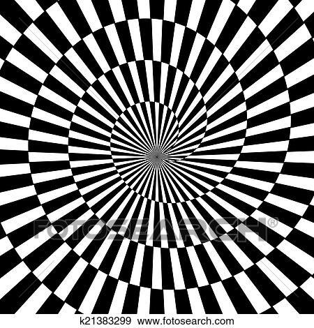 Clipart optisch kunst oneindigheid tunnel k21383299 zoek clipart illustratie posters - Ongewoon behang ...
