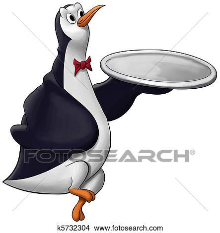 pinguin kellner
