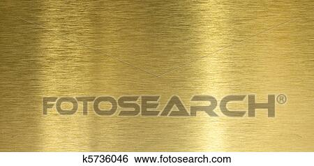 Brushed Brass Texture Brushed Brass Texture With
