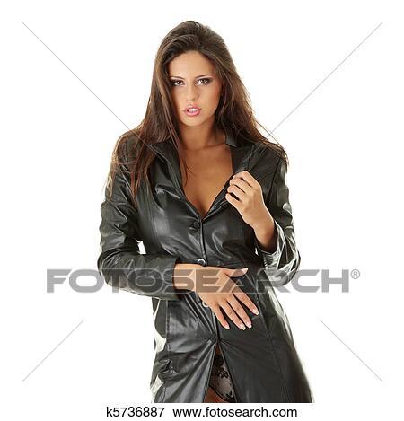 фото зрелых женщин в кожаной одежде
