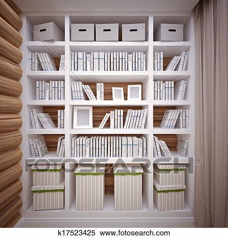 Archivio illustrazioni libreria k17523425 cerca for Mobilia dizionario