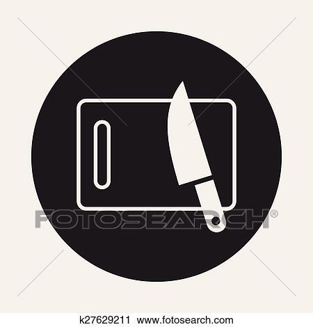 Schneidebrett clipart  Clipart - schneidebrett, symbol k27629211 - Suche Clip Art ...