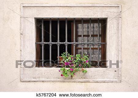 手绘图 - 窗口, 带, 铁