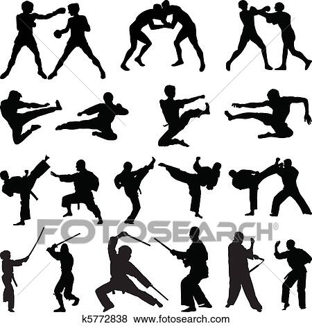 Martial arts Clip Art EPS Images. 6,266 martial arts clipart ...