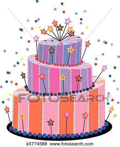Clip Art Geburtstagskuchen K5774588 Suche Clipart Wallpaper   Gallery Einladung  Kuchen Essen Englisch