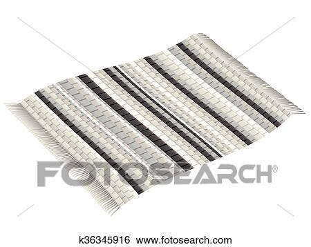 Teppich clipart  Clip Art of Vintage Rag Rug Black White k36345916 - Search Clipart ...