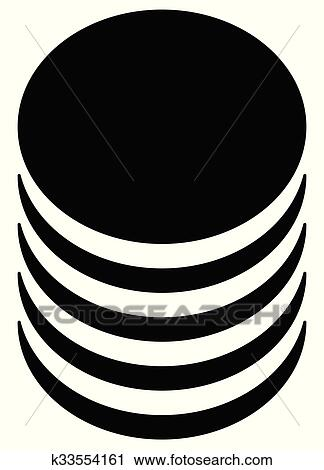 clipart of database barrel cylinder shape symbol vector rh fotosearch com database clipart png clipart database server