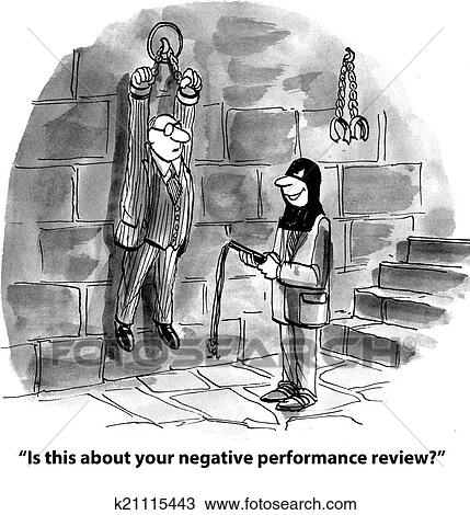 Drawing of Performance Review k21115443 - Search Clipart ...