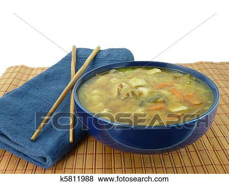 bilder a gesund sch ssel hei e miso suppe k5811988