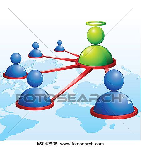 clipart of human networking k5842505 search clip art illustration rh fotosearch com social networking clipart computer networking clipart