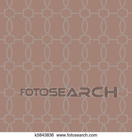 Clipart seamless marokkaan tegel motieven k5843836 zoek clipart illustratie posters - Ongewoon behang ...