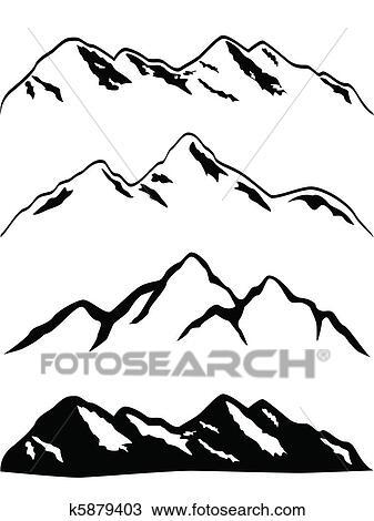 Mountains Clip Art Vector Graphics. 50,624 mountains EPS clipart ...
