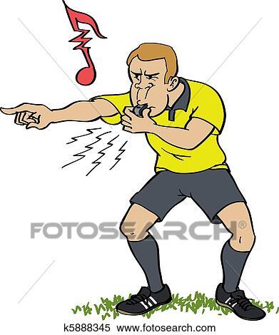 口哨图解 篮球裁判手势图解 足球裁判手势图解