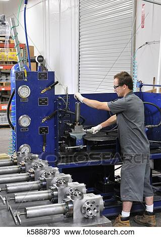 Stock Photo Of Manufacturing Test Engineer K5888793 - Search Stock
