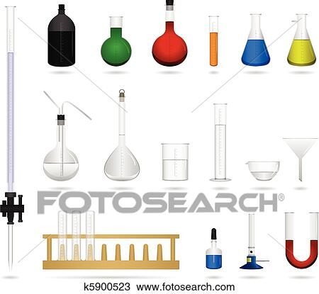 science drawing poster  Drawing - Science lab