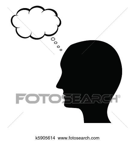 剪贴画 - 思想, 人图片