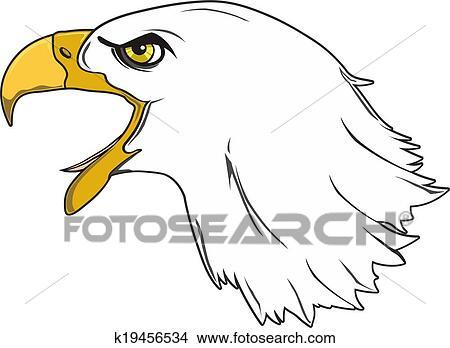 手绘图 - 鹰