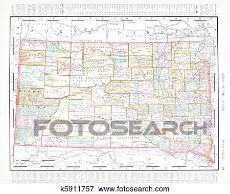 古董, 颜色地图