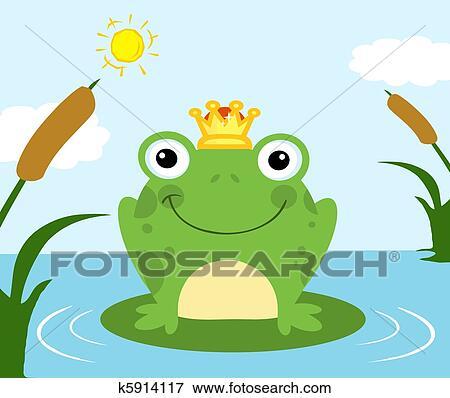 青蛙王子, 卡通漫画