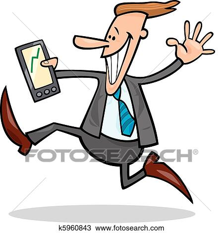 clipart of businessman happy for share rises k5960843 search rh fotosearch com businessman clipart vector businessman clipart images