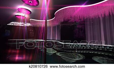 Stock Illustration of karaoke nightclub spotlight color ...   450 x 273 jpeg 30kB
