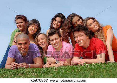 Résolution adulte de relooking de l'adolescence