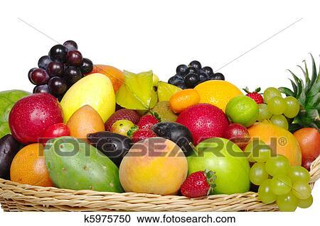 Archivio fotografico uno grande variet di frutta for Kiwi giallo piante acquisto