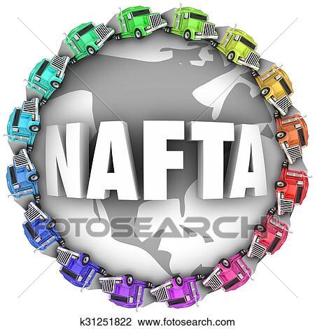 Clip art of nafta north american free trade agreement trucks clip art nafta north american free trade agreement trucks fotosearch search clipart platinumwayz