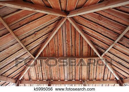 Stock afbeeldingen traditionele klassiek pergola prieel k5995056 zoek stockfotografie - Prieel structuur ...
