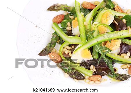 Салат спаржевый фото