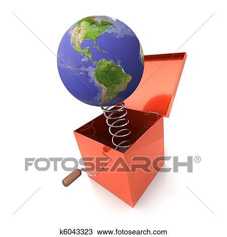 手绘图 - 玩具, 全球