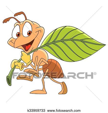 剪贴画 - 漂亮, 卡通漫画, 蚂蚁图片