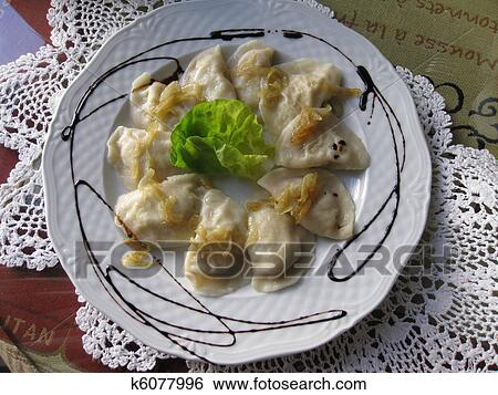 Stock Images of Pierogi Food from Poland k6077996 - Search ...