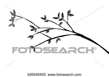 在线画-手,拖拉,勾画,在中,树枝酷家乐剪贴装修设计怎么画两层图片