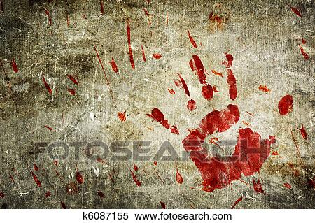 图片银行 - 流血, 墙壁