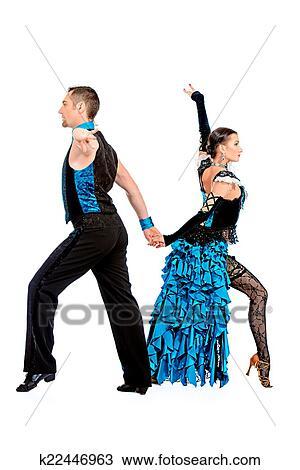 efectivo bailarines hermoso