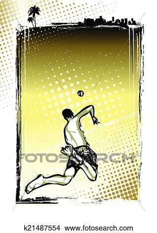 海滩排球, 海报