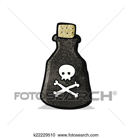 clipart of cartoon poison bottle k22229510 search clip art rh fotosearch com poison sign clipart clipart poison ivy