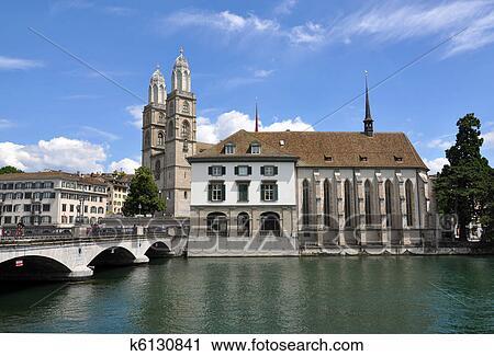Zurich City Hall Zurich City Hall And