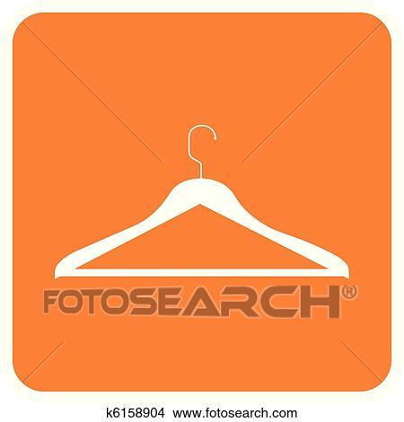 Kleiderständer clipart  Clipart - gegenstände, collection:, kleiderständer k6158904 ...