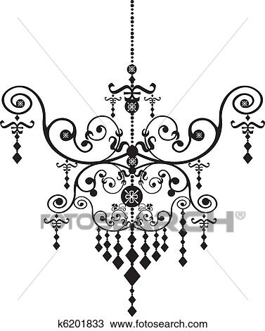 Clipart of chandelier k6201833 search clip art illustration clipart chandelier fotosearch search clip art illustration murals drawings and vector aloadofball Image collections