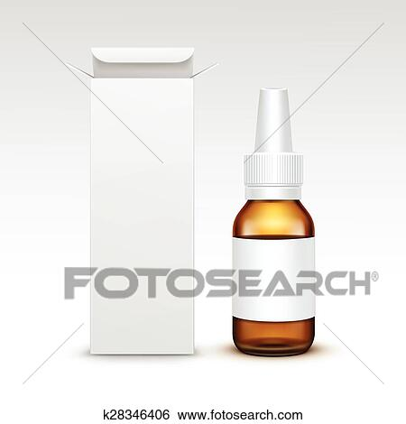 Glas leer clipart  Clip Art - vektor, leer, medizinprodukt, medizinische, glas ...