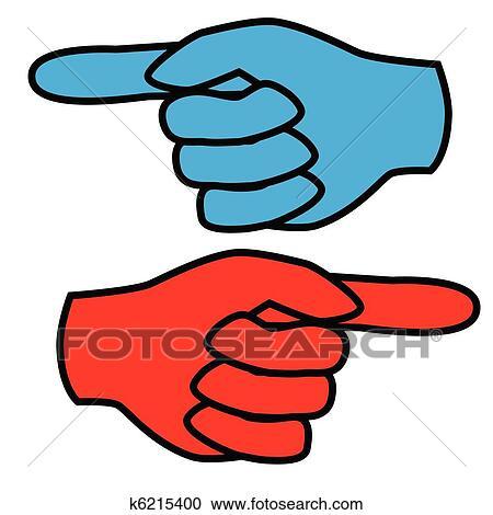 Clipart - zeigefinger k6215400 - Suche Clip Art ...