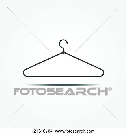Kleiderständer clipart  Clipart - kleiderständer, vektor, symbol k21610704 - Suche Clip ...