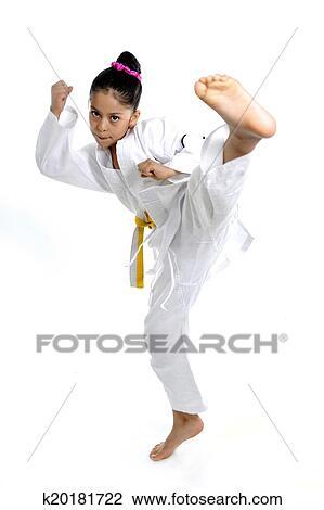girl training photography