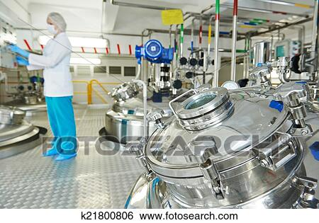 Stock Images of pharmaceutical industry worker k21800806 ...
