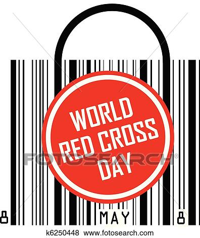 Clip Art of world red cross day k6250448 - Search Clipart ...