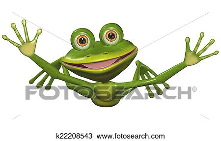 Flying Frog Drawing Drawing Flying Frog